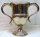 Peter and Ann Bateman Georgian Silver Loving Cup