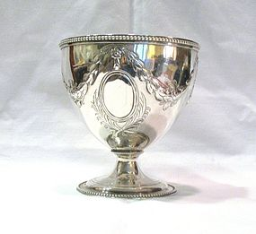 Georgian Scottish Silver Sugar Bowl