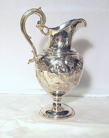 Silver Pitcher; Eoff & Shepherd for Ball, Black