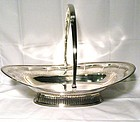 Robert Hennell Georgian Sterling Silver Cake Basket