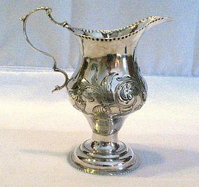 Georgian Silver Creamer 1778