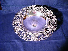 Theodore B. Starr Sterling Tazza or Compote
