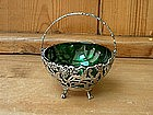 Sterling Silver Victorian Sugar Basket