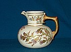 Royal Worcester Pitcher; 1889