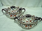 Pair of Burgess & Leigh Sauce Tureens