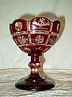 Ruby Red Wedding Chalice