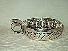 Sterling Silver Wine Taster or Sommelier Bowl
