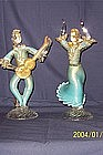 Hand Blown Venetian Glass figures