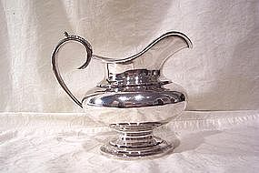 Coin Silver Creamer; Obadiah Rich, Boston