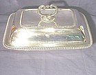 George III Sterling Silver Entree Dish; 1811