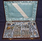 Vienna Silver Dessert Set 21 Pieces Boxed