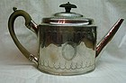 Georgian Silver Teapot Peter and Ann Bateman