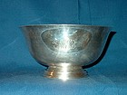 Paul Revere Style Classic Sterling Bowl