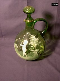 Mary Gregory Pitcher or Ewer