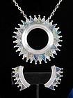 WILLIAM SPRATLING Azur-Malachite Necklace & Earrings