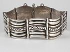 Rare HECTOR AGUILAR Sterling Silver Bracelet 1940's