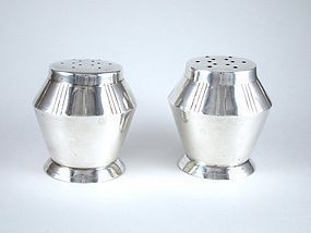 WILLIAM SPRATLING SALT & PEPPER SET STERLING