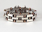 WILLIAM SPRATLING SILVER & BRONZE BRACELET  1943-45