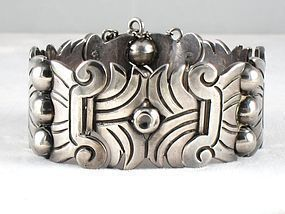 HECTOR AGUILAR BRACELET MAGUEY STERLING SILVER