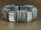 "HECTOR AGUILAR BRACELET SILVER ""PAPERCLIP"" c. 1948"