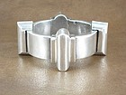 ANTONIO PINEDA SILVER DECO MACHINE AGE BRACELET