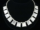 WILLIAM SPRATLING SILVER NECKLACE 1940'S