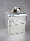 WILLIAM SPRATLING VINTAGE STERLING SILVER TEA CADDY BOX