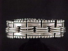 Vintage Hector Aguilar Mexican Silver Bracelet - Taxco