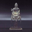 A Decent Bronze Buddha of Tang Dynasty