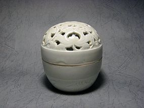 A Decent Qingbai Covered Censer of Song Dynasty