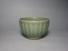 A Longquan Lotus-Petal Bowl in Nice Form.