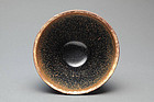 A Very Fine Jianyang Hare-Furs Tea Bowl of S. Song Dy.