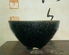 A Jianyang Oil-Spotted Bowl of Song Dynasty.