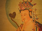 A Painting of Manjusri(Wen- Su)