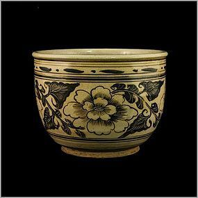 One Beautiful Painted Jar of Jin/Yuan Periods