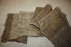 Old antique textile hemp shina-fu -kaji very rare