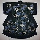 Edo era japanese tsutsugaki cotton yogi textile