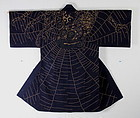Edo  embroidery big  spider Hanten very rare