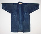 antique boro cotton Patched sashiko stitch noragi coat
