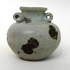 Yuan dynasty iron spotted small jar