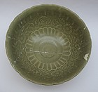 Chinese 14th-15th Century Celadon Bowl