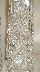 Vintage Imperlux Amphora pattern crystal shakers