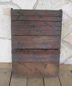Antique Tobacco Barn Salesman's Sample Folk Art Display