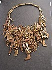 Vintage Large Pal Kepenyes Signed Milagros Necklace