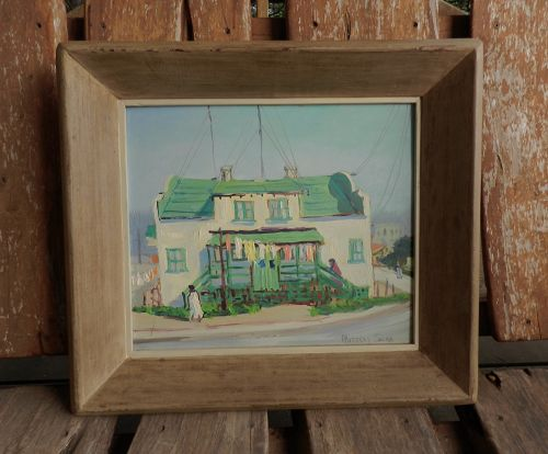 Listed California Artist Russell Swan Monterey Painting