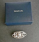 Tiffany & Co. Sterling Brooch Early Mark Plus Box
