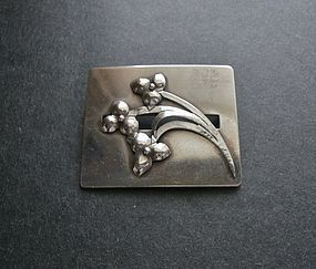 Vintage Georg Jensen USA Sterling Brooch 451