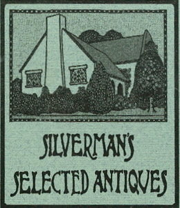 Silverman's Selected Antiques specializes in Jewelry, Silver, Art, Pottery, Accessories