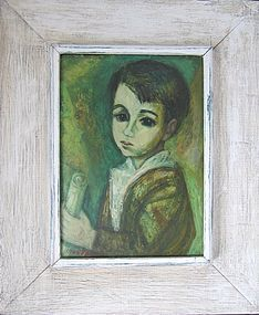 "MAX BAND ""CHILD WITH SCROLL"" 1940S-1950S"
