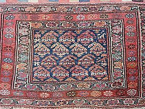 Antique Kurdish Bag Front, pre-1900